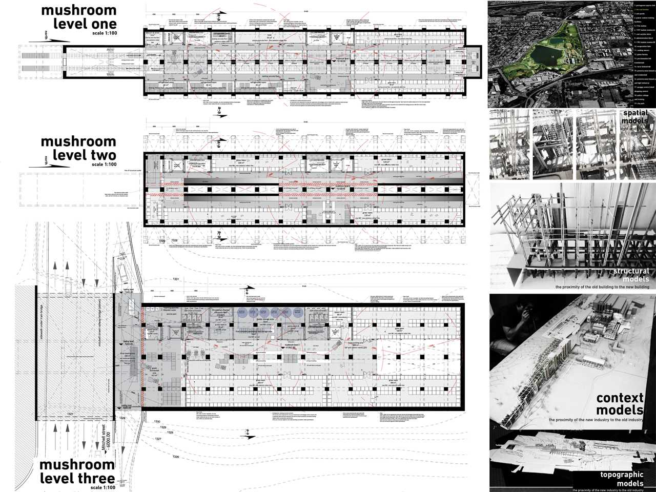 Organic Architecture Floor Plans Adaptive Re Use Of Industrial Site For Urban Agriculture