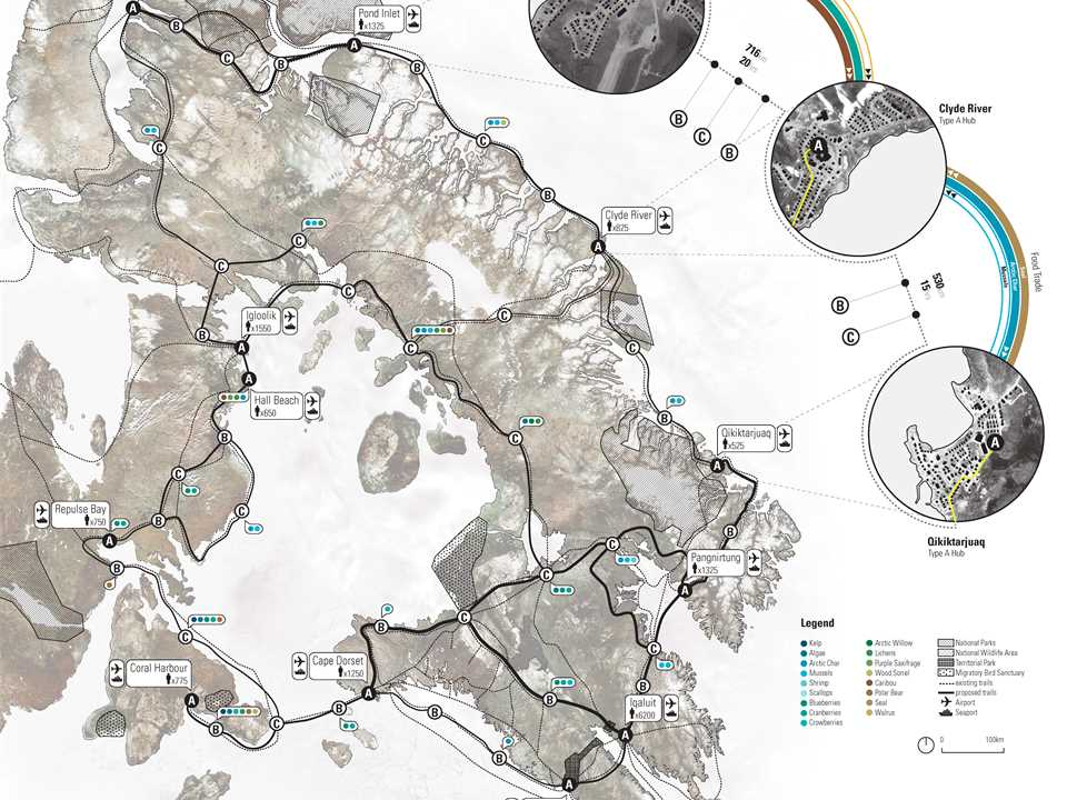Global Holcim Awards finalist entry 2012 – Regional food-gathering nodes and logistics network, …