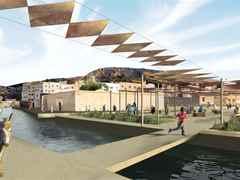 Global Holcim Awards finalist entry 2009 – River remediation and urban development scheme, Fez, …