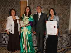 Global Holcim Awards Gold 2009 prize handover