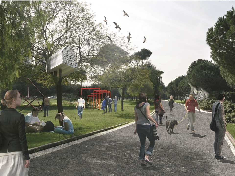 Holcim Awards Silver - Evergreen City: Urban pine forest rehabilitation, Beirut, Lebanon