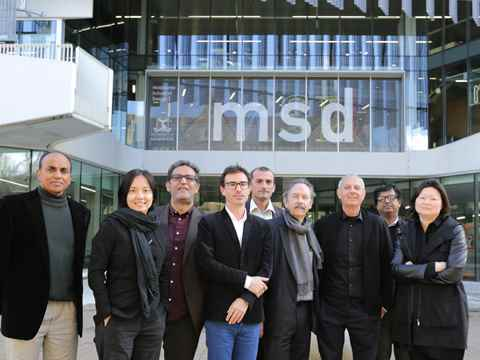 The LafargeHolcim Awards jury for region Asia Pacific met at the Melbourne School of …
