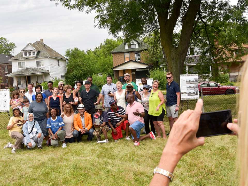 Project celebration July 2018 – Grassroots Microgrid in Michigan, USA