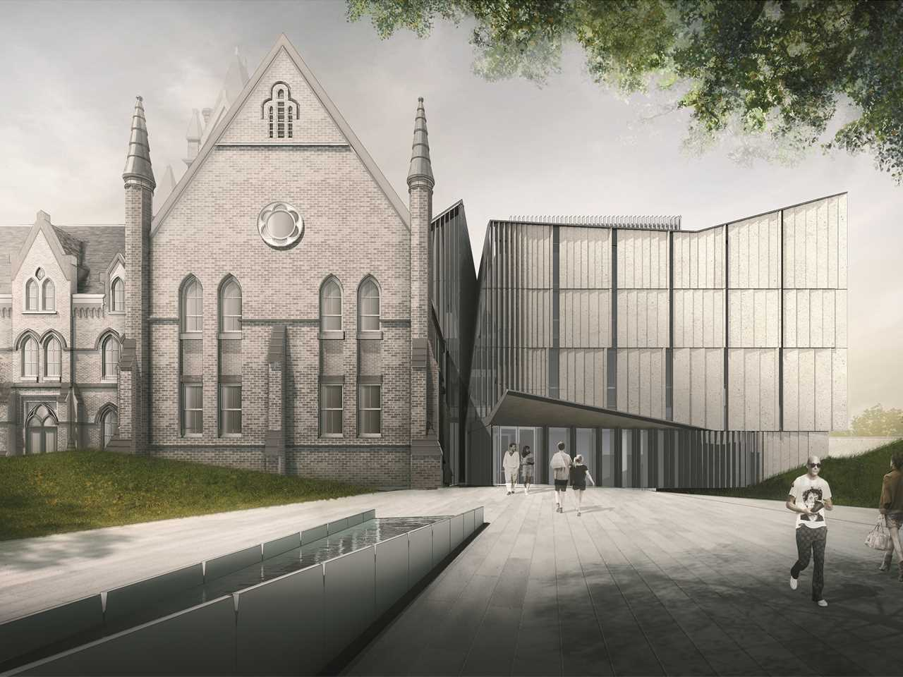 Holcim Awards Acknowledgement prize 2014 North America: Heritage Reframed University building …
