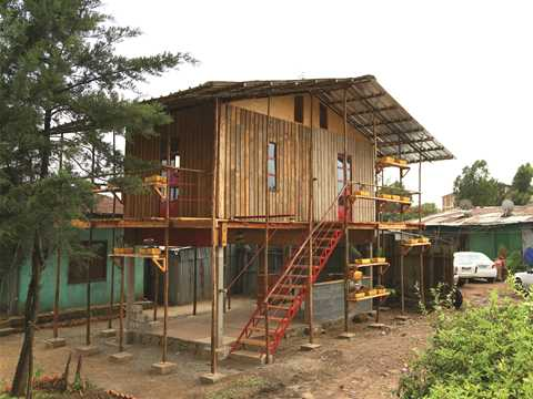 Global finalist entry 2015 - Incremental Construction: Low-cost modular housing scheme