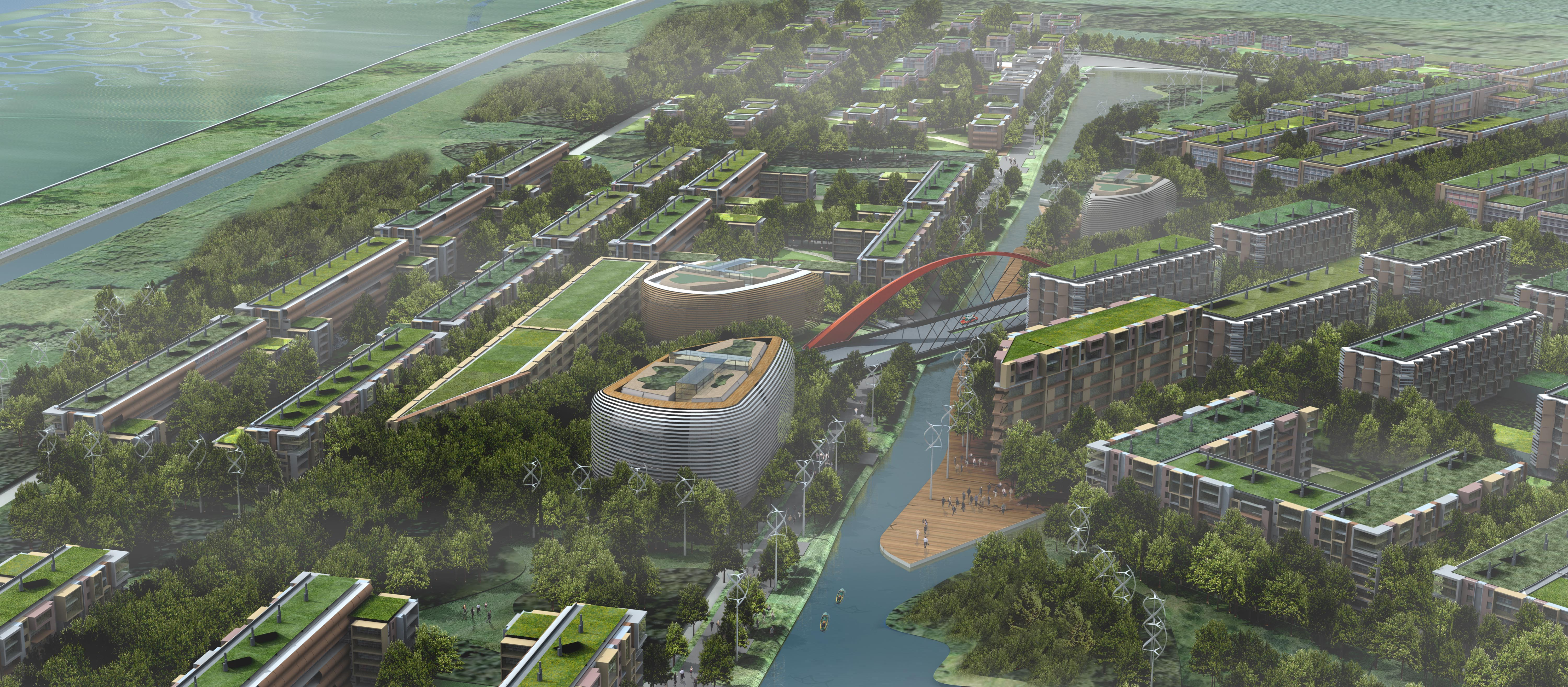 the concept of the eco city The first zero-carbon city, which has been built just outside of abu dhabi, serves as a live example of the theory of sustainable living such futuristic cit.