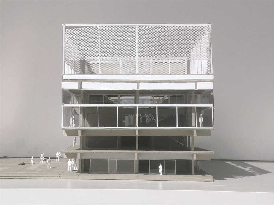 Project entry 2014 Europe – Public Condenser: Low-cost flexible university building, Paris, France