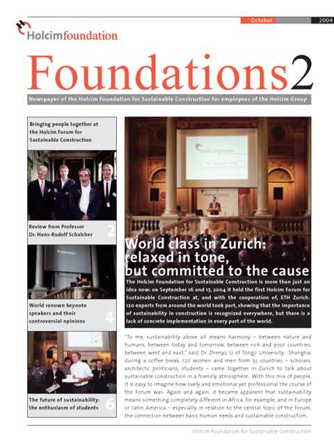 Cover of Foundations 2 Magazine