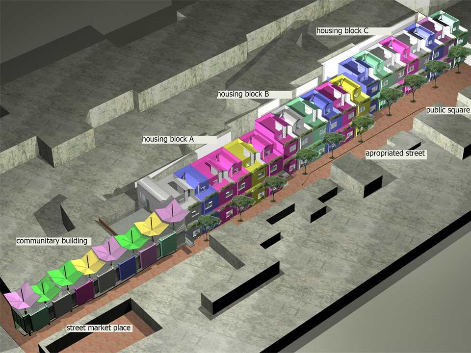 Eutropia low-cost and space-efficient social housing