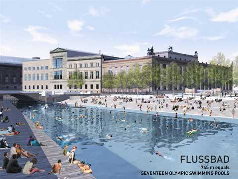Global Holcim Awards Bronze - Urban renewal and swimming-pool precinct, Berlin, Germany