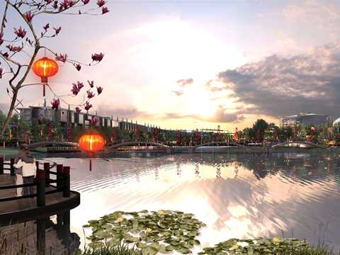Dongtan Eco-City urban concept