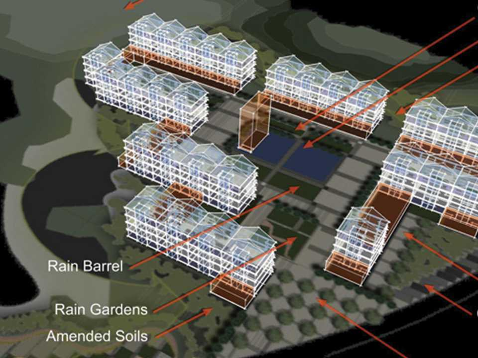 Holcim Awards Encouragement 2005 Asia Pacific: BARN-ing Community Concept Plan of Dongzhou, China