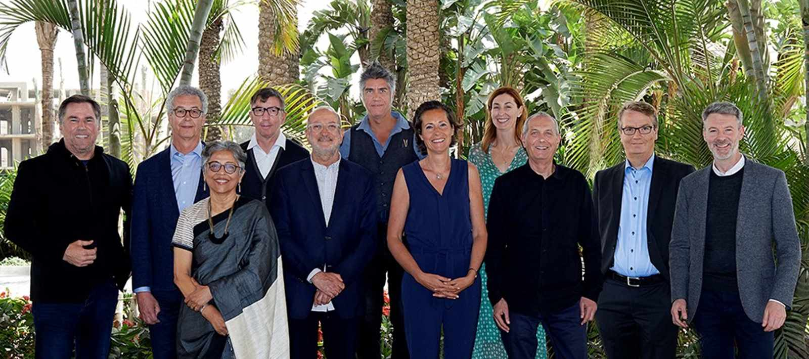 Board of the LafargeHolcim Foundation for Sustainable Construction (l-r): Jan Jenisch, …