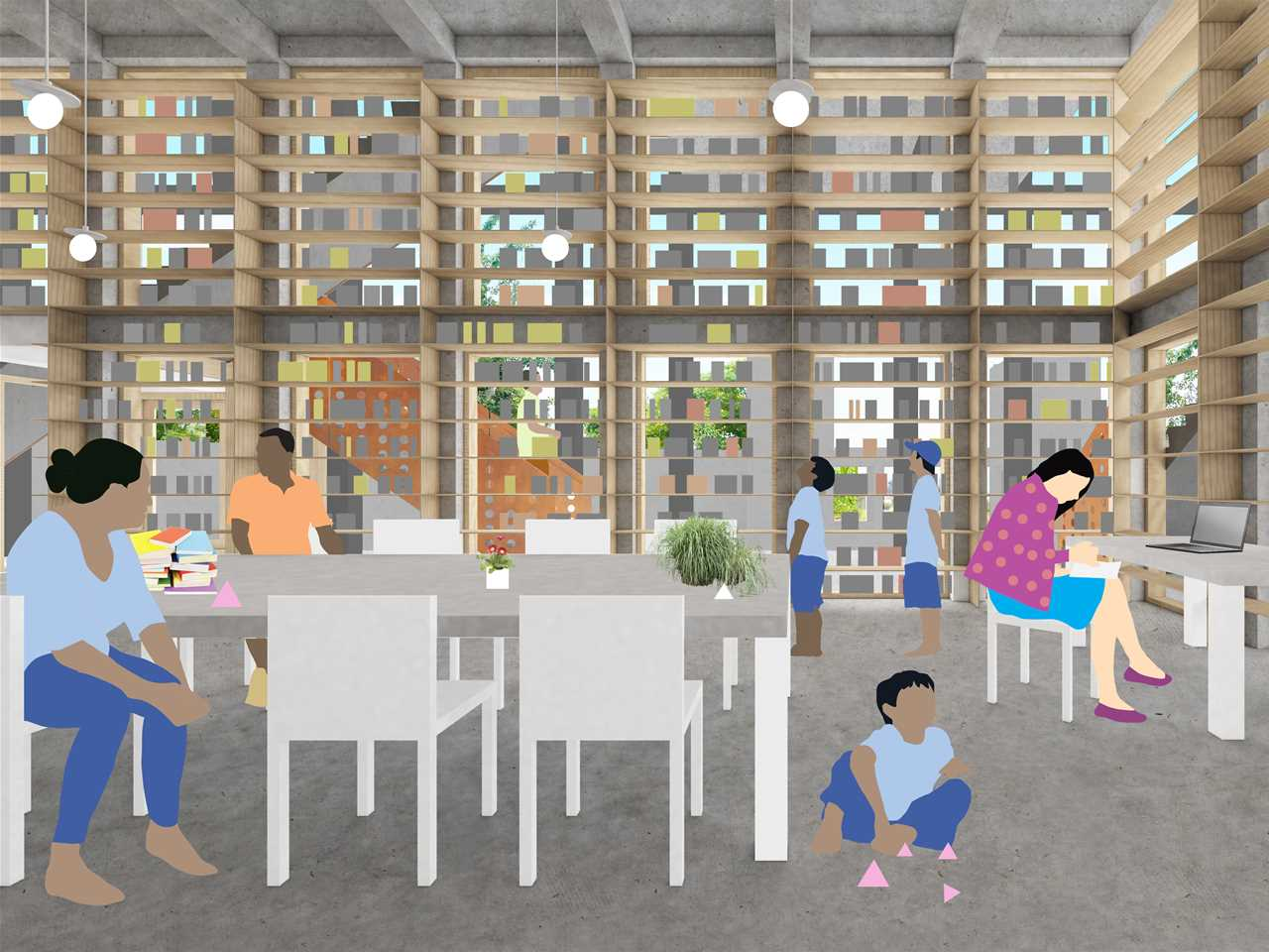 Global Finalist Entry 2015   Childrenu0027s Ziggurat: Locally Adapted Orphanage  And Library