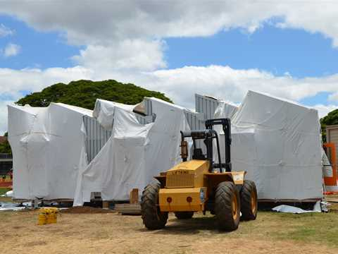Project update November 2011 – Energy neutral portable classroom, Honolulu, HI, USA