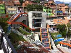 Urban integration of an informal area, Medellín, Colombia