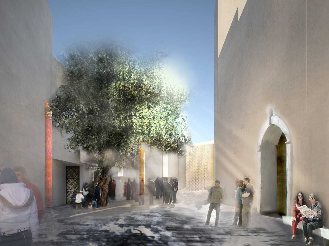 Holcim Awards Acknowledgement prize 2011 Africa Middle East: Urban precinct reconstruction …