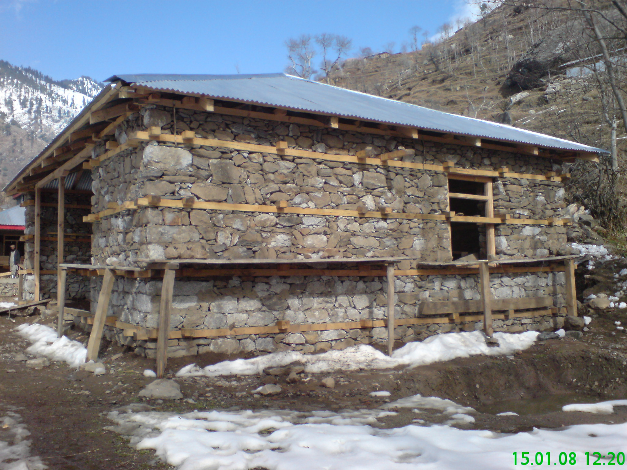 Advocacy of traditional earthquake-resistant construction, North