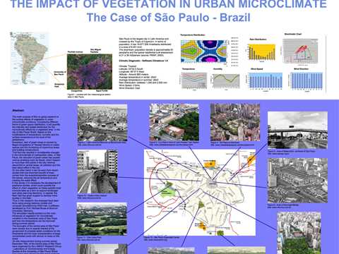 Impact of vegetation in urban microclimate - the case of São Paulo