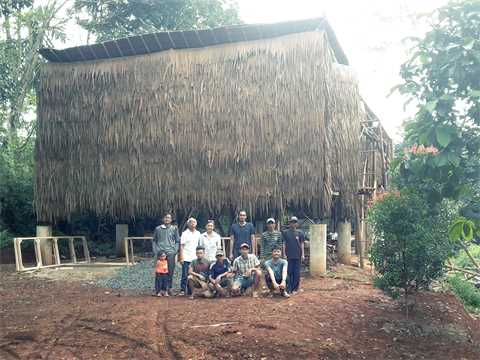Training center for organic agriculture in Parung, West Java, Indonesia