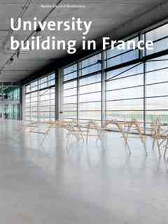University building in France – Nantes School of Architecture
