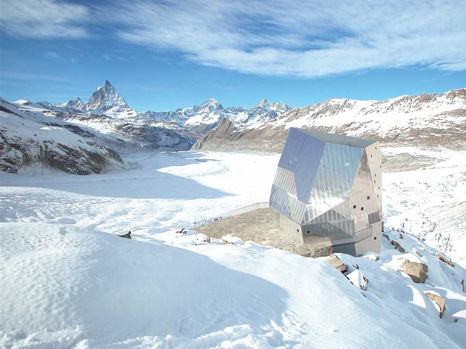 Holcim Awards Bronze 2008: Autonomous alpine shelter, Monte Rosa hut, Switzerland