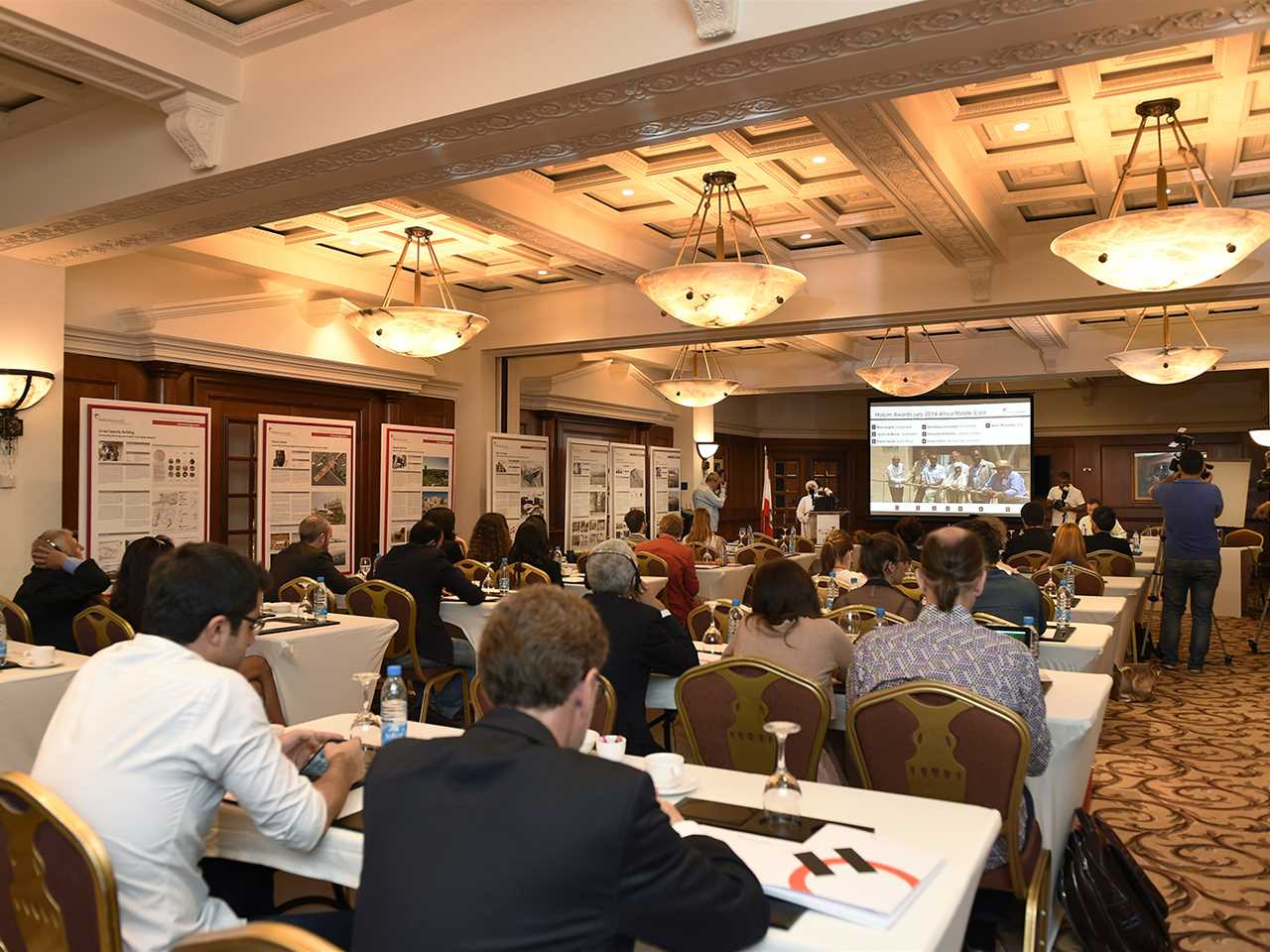 Holcim Awards Africa Middle East media briefing, Beirut, Lebanon
