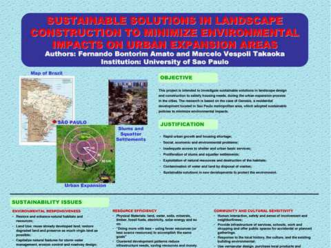 Sustainable solutions in landscape construction to minimize environmental impacts on urban …