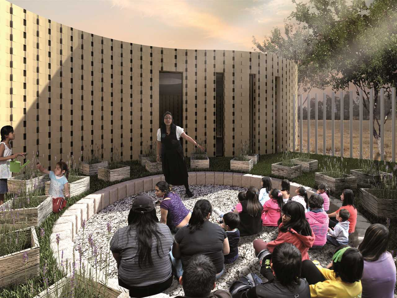 Global finalist entry 2015 - Children's House: Pedagogically-aligned school