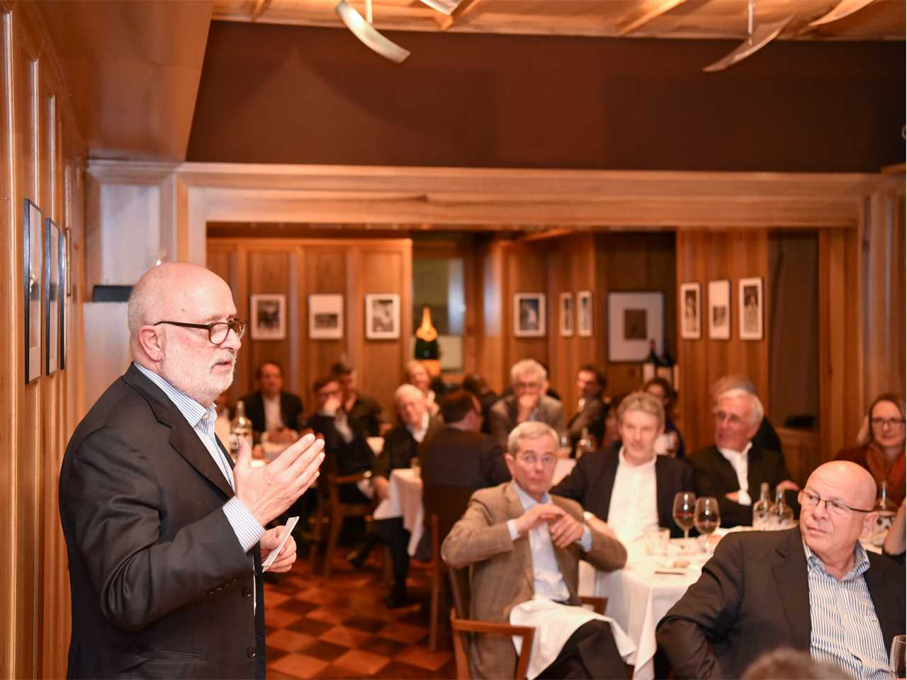 Farewell for Rolf Soiron, founding Chairman of the LafargeHolcim Foundation