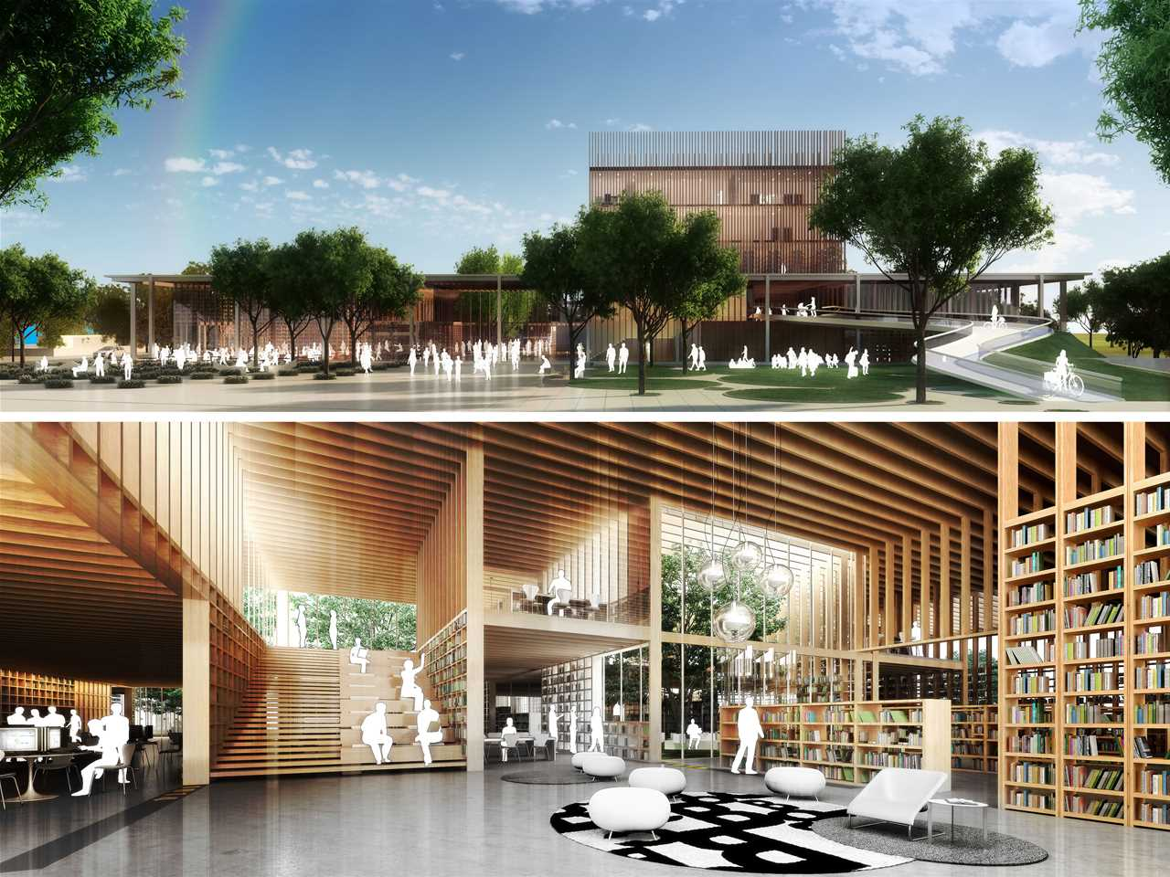 Holcim Awards Acknowledgement prize 2011 Latin America: Library with integrated community …
