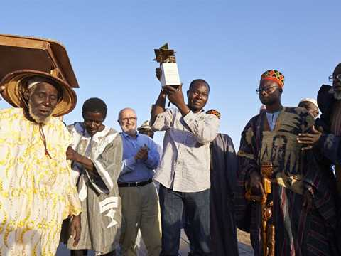 Handover of the Global Holcim Awards Gold in Gando, Burkina Faso