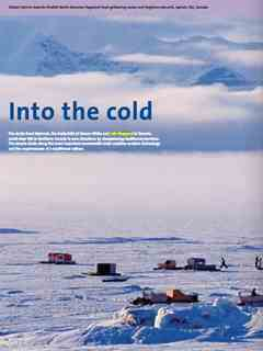 """""""Into the cold"""" in Third Holcim Awards – Sustainable Construction 2011/2012"""