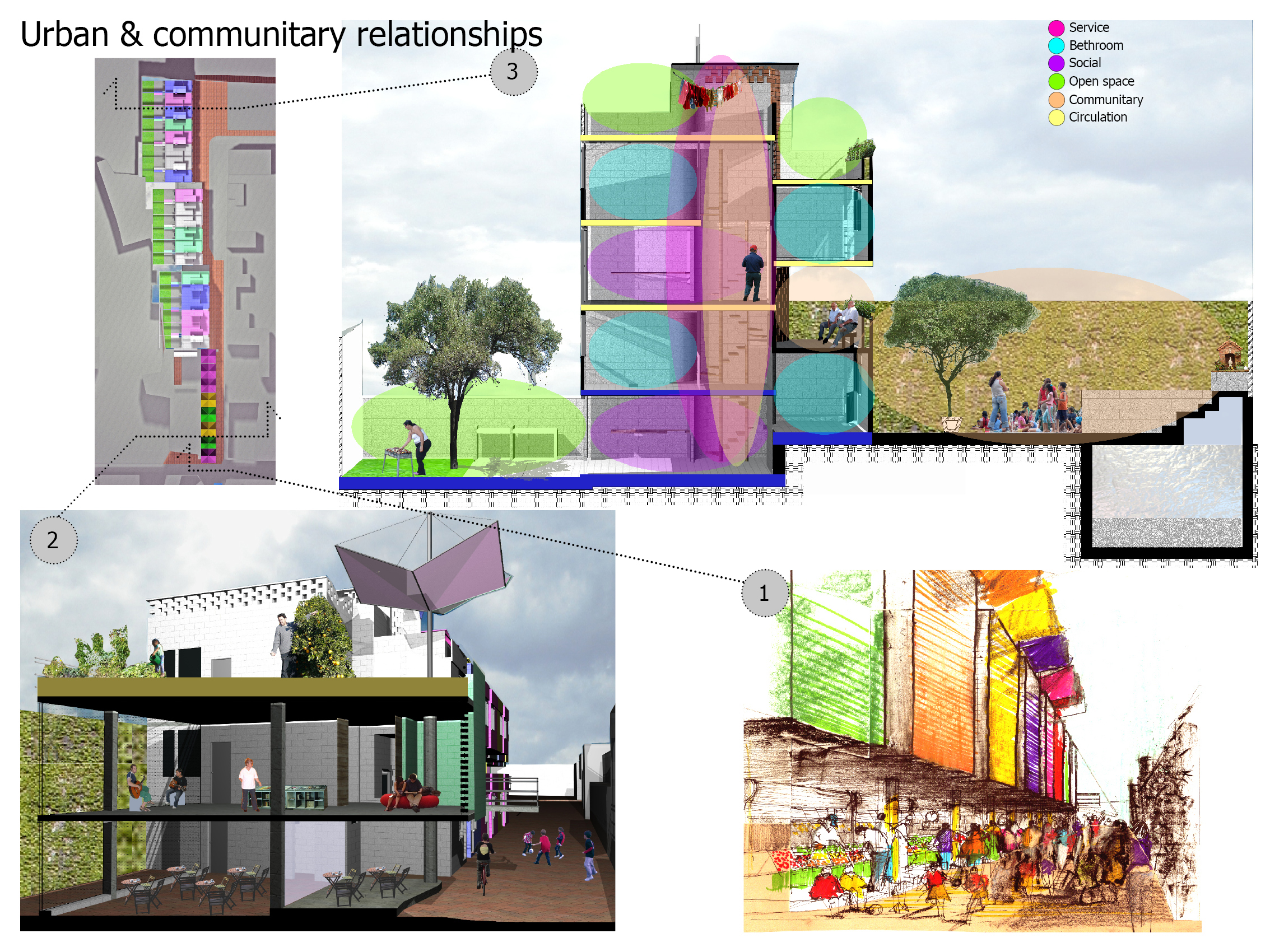 Eutropia Low Cost And Space Efficient Social Housing