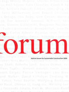 Forum 2004 – Basic Needs – Zurich