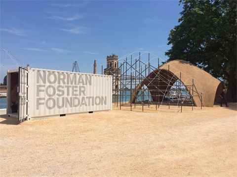 LafargeHolcim at the Norman Foster Foundation Pavilion in Venice