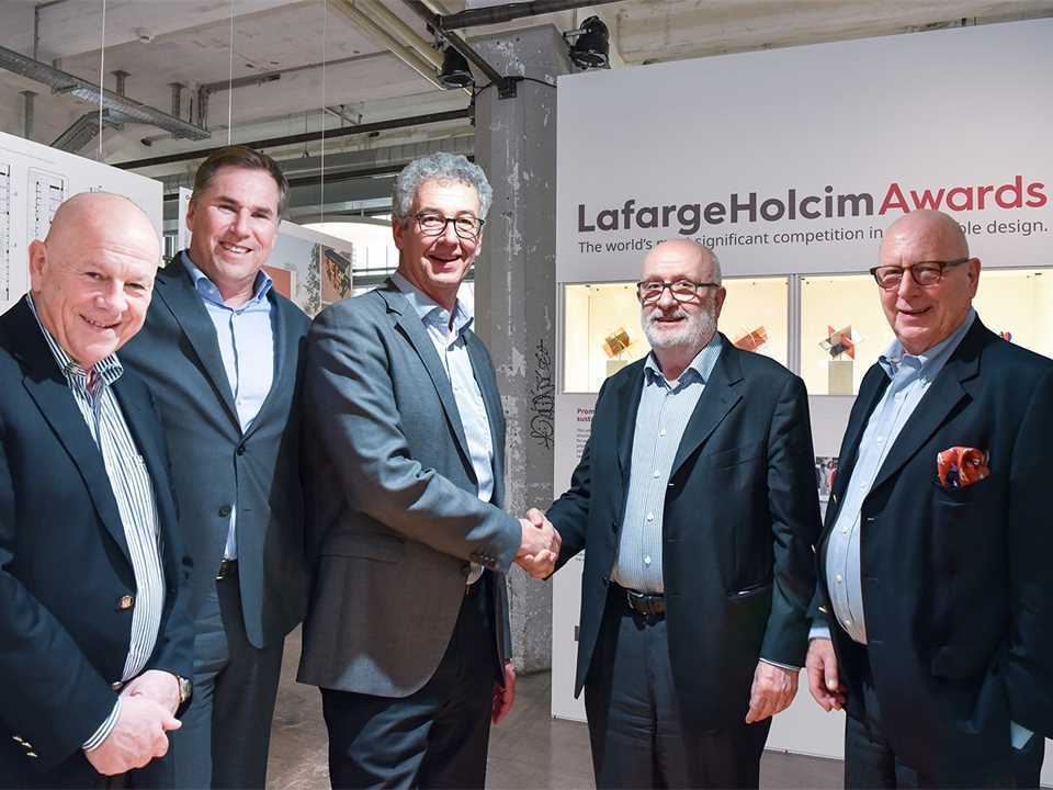 Hand-over of the Chairmanship of the LafargeHolcim Foundation for Sustainable Construction …