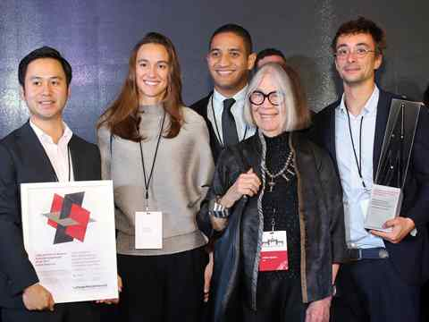 LafargeHolcim Awards 2017 for Latin America prize handover ceremony, San José