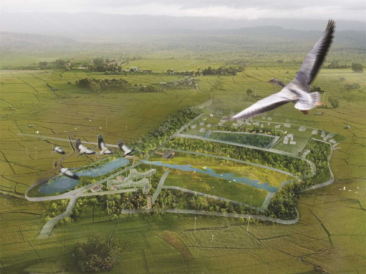 Global finalist entry 2015 - Protective Wing: Bird sanctuary