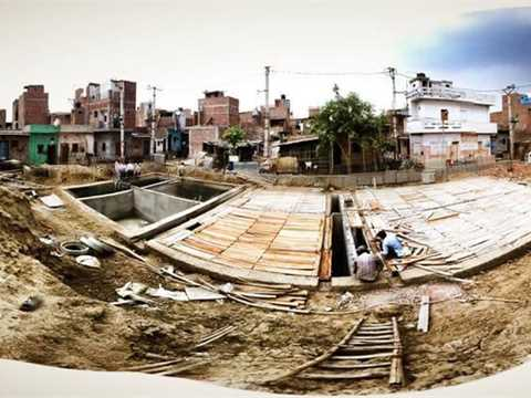 Project update September 2013 – Decentralized sanitation system, New Delhi, India
