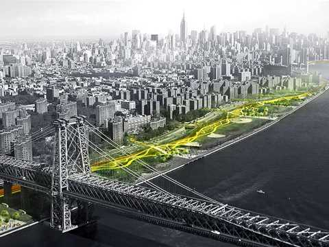 "Global Holcim Awards Bronze 2015 – The ""Dryline"": Urban flood protection infrastructure, …"
