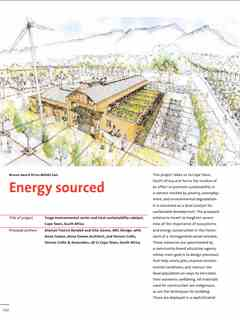 """Energy sourced"" in First Holcim Awards for Sustainable Construction 2005/2006"