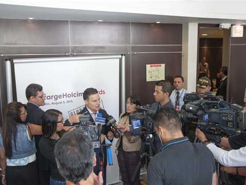 Global Gold Awards 2015 prize handover - Media Briefing