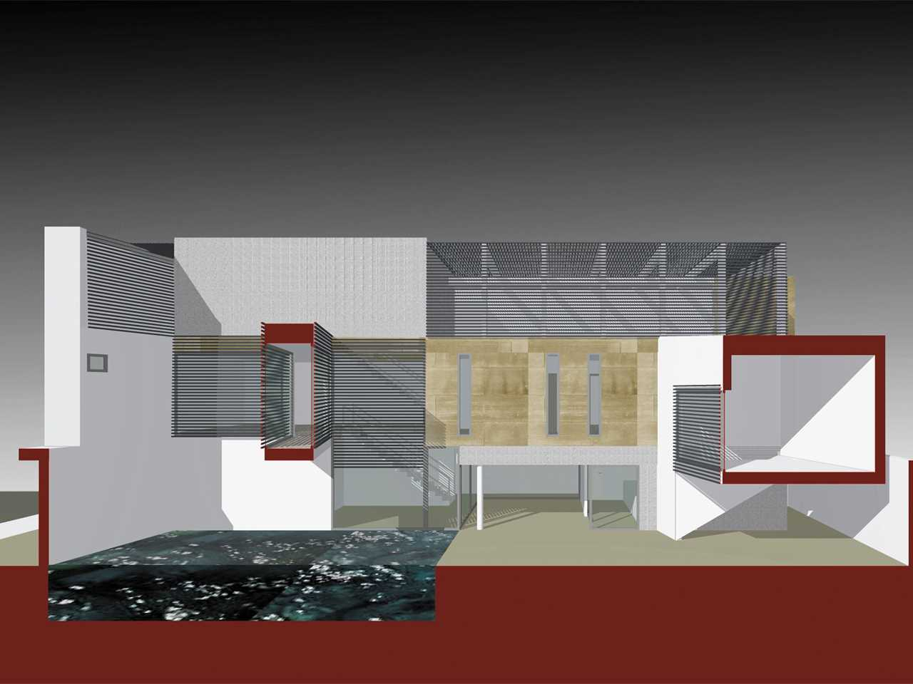 Holcim Awards Acknowledgement prize 2005 Africa Middle East: Breathing House - Modern Saudi …