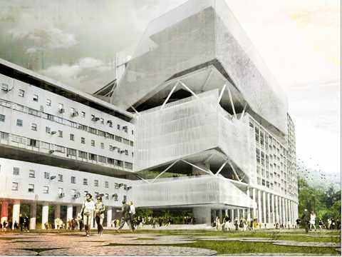 Densification and upgrade of university buildings