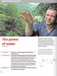 """The power of water"" in First Holcim Awards for Sustainable Construction 2005/2006"