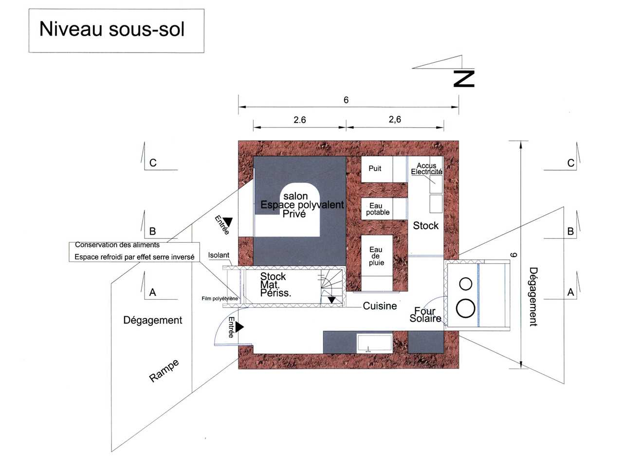 Project entry 2005 Africa Middle East – Ecological dwelling in a semi-desert zone, Erfoud, Morocco
