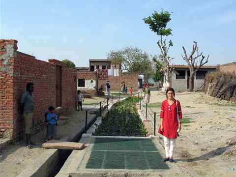 Project entry 2011 - Decentralized sanitation system, near New Delhi, India: Author …
