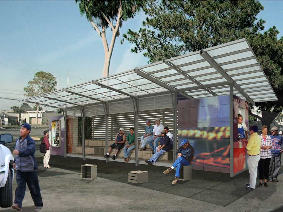 "Global Holcim Awards ""Innovation"" prize 2009: Self-contained day labor station, San Francisco, USA"