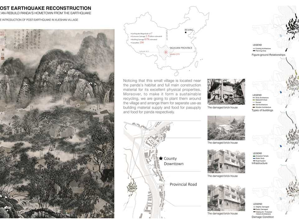 Project Entry 2014 Asia Pacific - Panda-Watching: Historic village reconstruction, Xueshan, China
